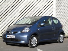 Toyota Aygo 1.0 VVT-i AYGO Blue 3 DOOR HATCH - ONLY 30 ROAD TAX - LOW INSURANCE !!