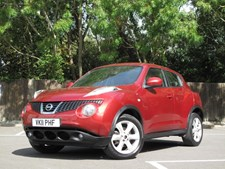 Nissan Juke 1.6 16v Acenta 5 DOOR HATCH -ONLY 55000 MILES FROM NEW !!